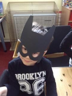 One very determined bat boy