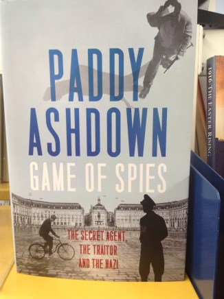 Game of Spies by Paddy Ashdown
