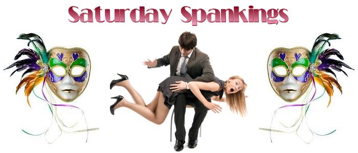Saturday Spankings-Mardi Gras Mask