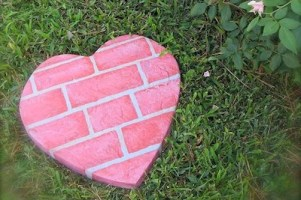 Heart Shaped Steppingstone