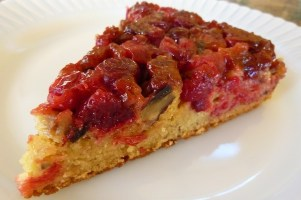 Vegan Orange Cranberry Upside-Down Cake