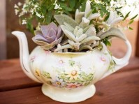 Tea Pot Garden For Breast Cancer Garden Therapy
