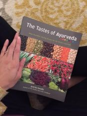 Our first Ayurvedic Cookbook.