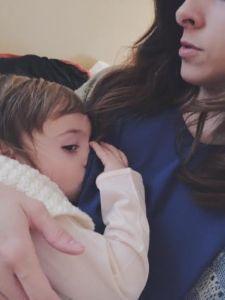 Breastfeeding Christmas Morning