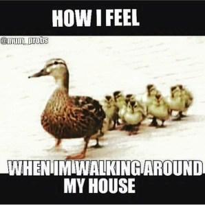 smiles, ducks, motherhood