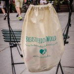 swag bag, breastfeeding supporters took over Times Square, breastfeeding world big latch on, women breastfeeding in times square, times square, breastfeeding in times square, moms take over times square, breastfeeding world, big latch on nyc, nyc big latch on