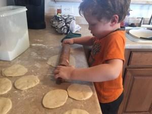 Kids can cook- homemade tortilla recipe