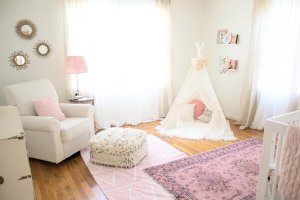 the perfect lighting in your nursing nook
