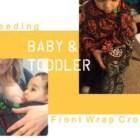 front wrap cross carry, breastfeeding world, breastfeeding baby carrier, babywearing, guest post, samantha reddy, wrapsody giveaway