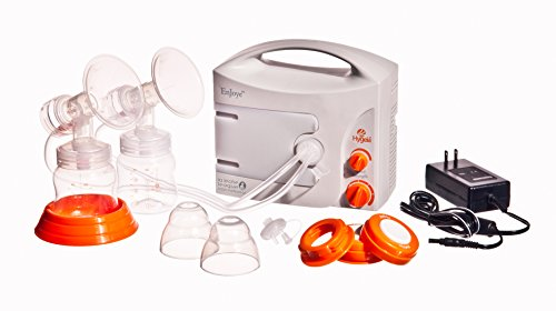 Hygeia Enjoye Double Electric Breast Pump Review  Breast -5143