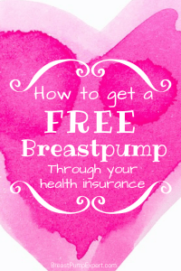 insurance breast pump