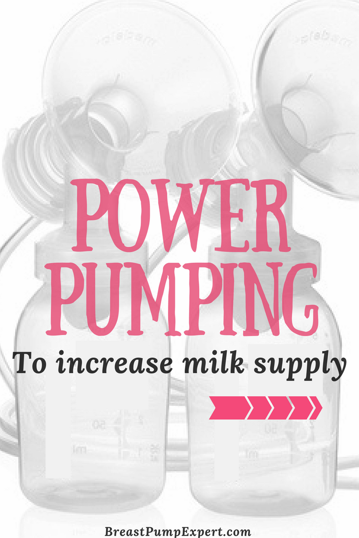 Power Pumping to Increase Breastmilk Supply