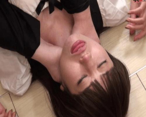 美女のガチ失神首絞め動画マニア必見の首絞め落とし決定版