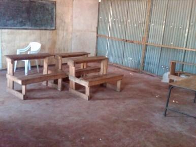 School Renovation: New Desk
