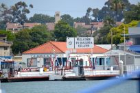 Balboa Island Sign at Ferry