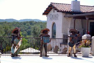 Three Musicians Croad Vineyard