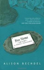 Cover of Fun Home, a graphic novel by Alison Bechdel
