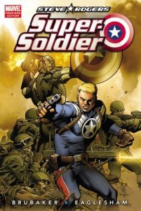 Cover of Ed Brubaker's Steve Rogers: Super Soldier