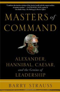 Cover of Masters of Command by Barry Strauss