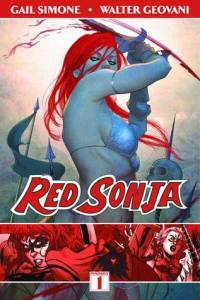 Cover of Red Sonja by Gail Simone