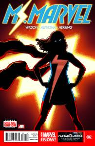 Cover of Ms Marvel issue #2