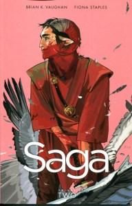 Cover of Saga vol 2 by Brian Vaughan