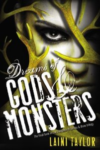 Cover of Dreams of Gods and Monsters by Laini Taylor