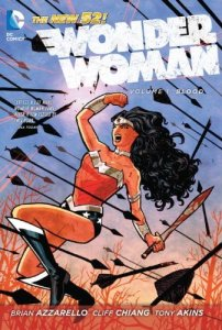 Cover of Wonder Woman: Blood by DC Comics