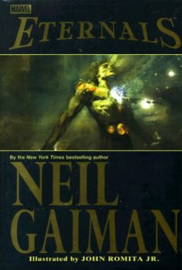 Cover of The Eternals by Neil Gaiman