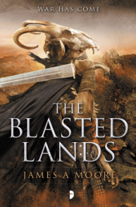 Cover of The Blasted Lands by James A. Moore