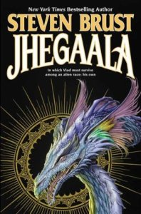 Cover of Jhegaala by Steven Brust