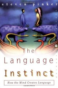 Cover of The language Instinct by Steven Pinker