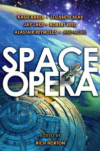 Cover of Space Opera anthology