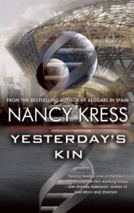 Cover of Yesterday's Kin by Nancy Kress