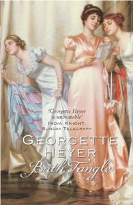 Cover of Bath Tangle by Georgette Heyer