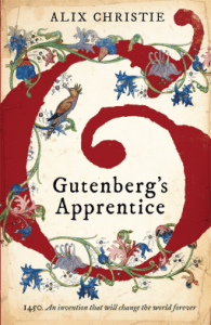 Cover of Gutenberg's Apprentice by Alix Christie