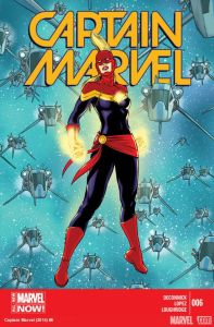 Cover of Captain Marvel #6