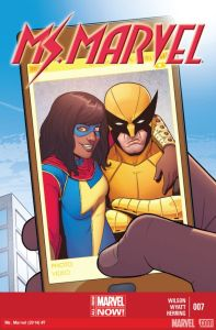 Cover of Ms Marvel #7