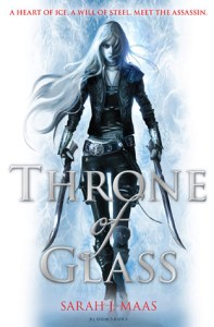 Cover of Throne of Glass, by Sarah J. Maas