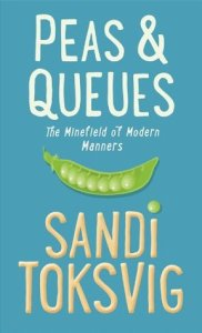 Cover of Peas & Queues, by Sandi Toksvig