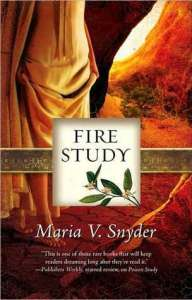 Cover of Fire Study by Maria V. Snyder