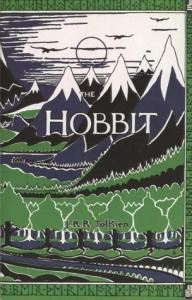 Cover of The Hobbit, by J.R.R. Tolkien
