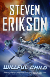 Cover of Willful Child by Steven Erikson