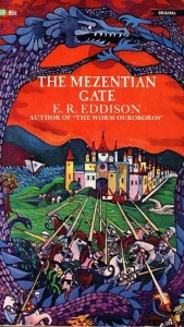 Cover of The Mezentian Gate by E.R. Edison
