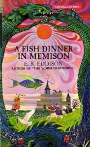 Cover of A Fish Dinner in Memison  by E.R. Edison