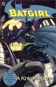 Cover of Batgirl: A Knight Alone by Kelley Puckett