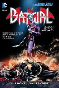 Cover of Batgirl: Death in the Family by Gail Simone