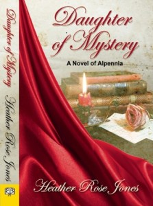 Cover of Daughter of Mystery by Heather Rose Jones