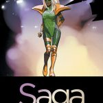 Cover of Saga vol 4 by Brian K. Vaughan and Fiona Staples