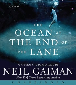 Cover of The Ocean at the End of the Lane by Neil Gaiman (audiobook)